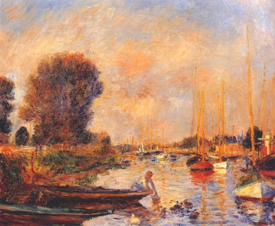 renoir the seine at argenteuil