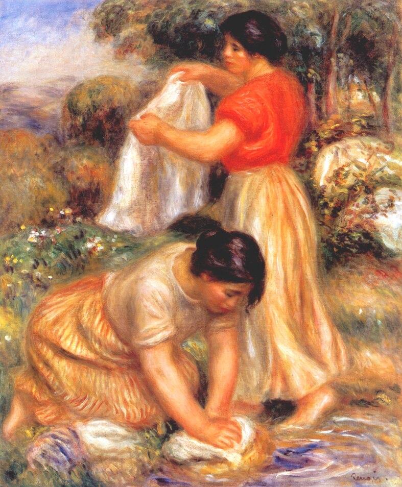 Image result for renoir washerwoman