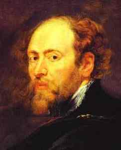 Peter Paul Rubens Self Portrait without a Hat