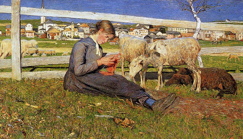 Segantini-Giovanni-Knitting-girl-Sun.jpg
