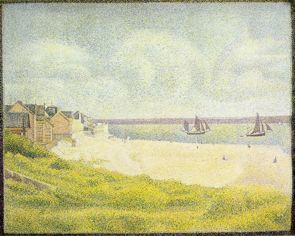 Seurat View of Le Crotoy, 1889, « Seurat Georges « Artists