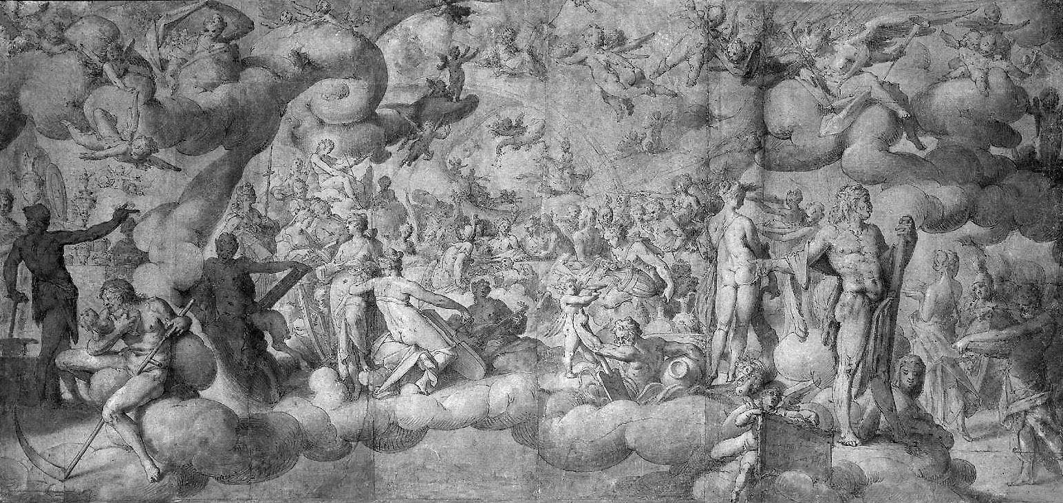 Spranger Bartholomeus Wedding Of Cupid And Psyche Sun