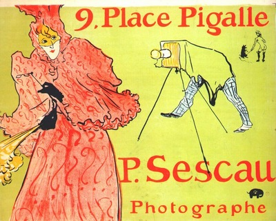 lautrec the photographer sescau poster