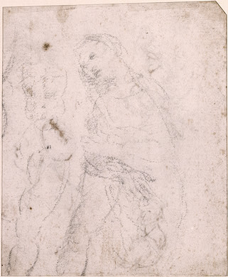 Study of a Madonna