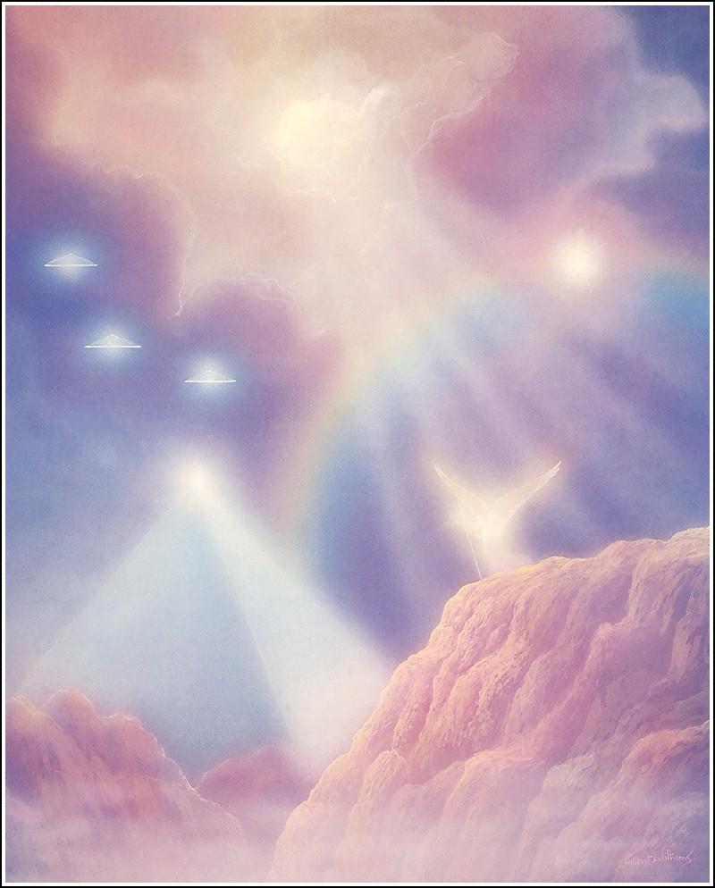 """Во вторник 9 февраля в Клубе  """"Анахата """" состоялась медитация в Божественном..."""