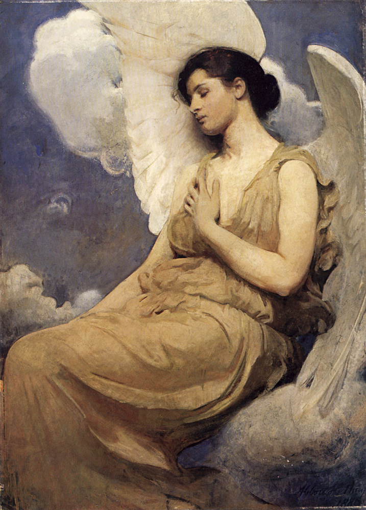 Thayer Winged figure « Abbott Handerson Thayer (1849-1921 ...