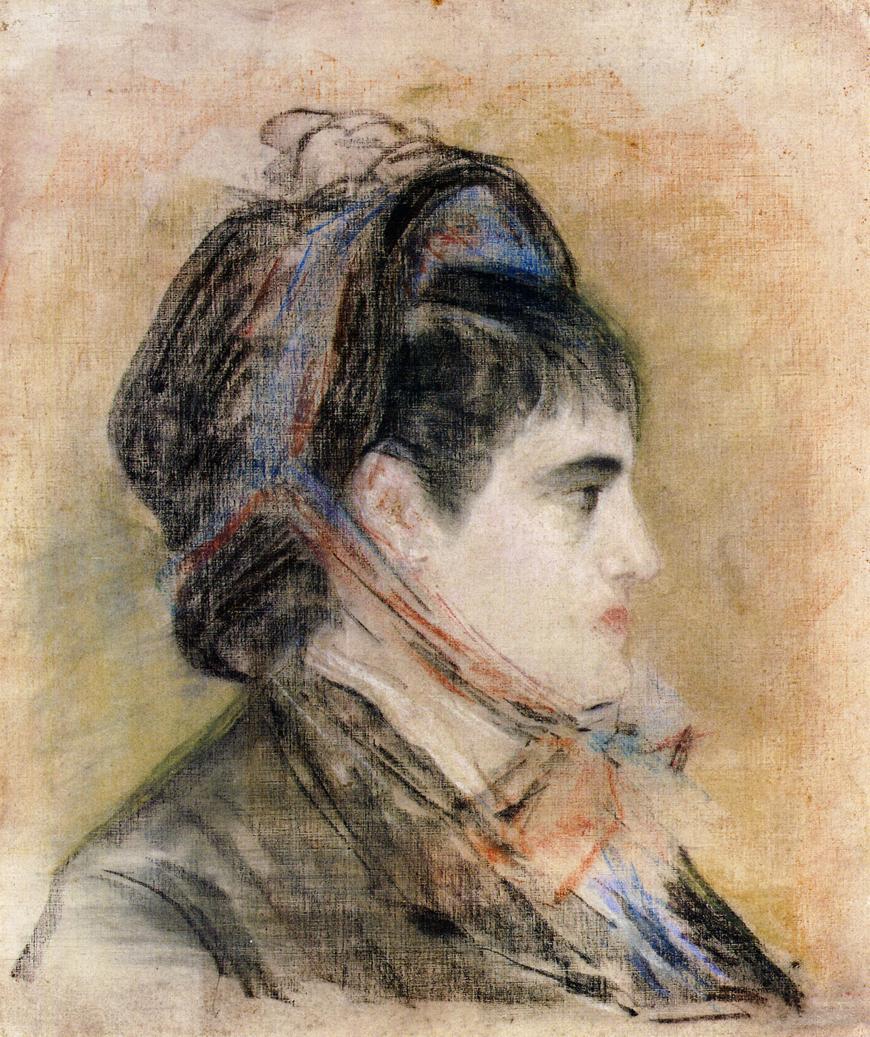 madame jeanne martin in a bonnet - Madame-Jeanne-Martin-in-a-Bonnet-1881