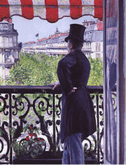 the man on the balcony 1880