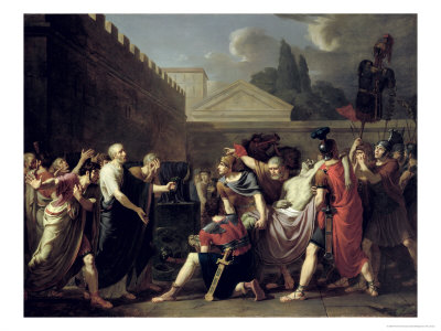 the death of brutus