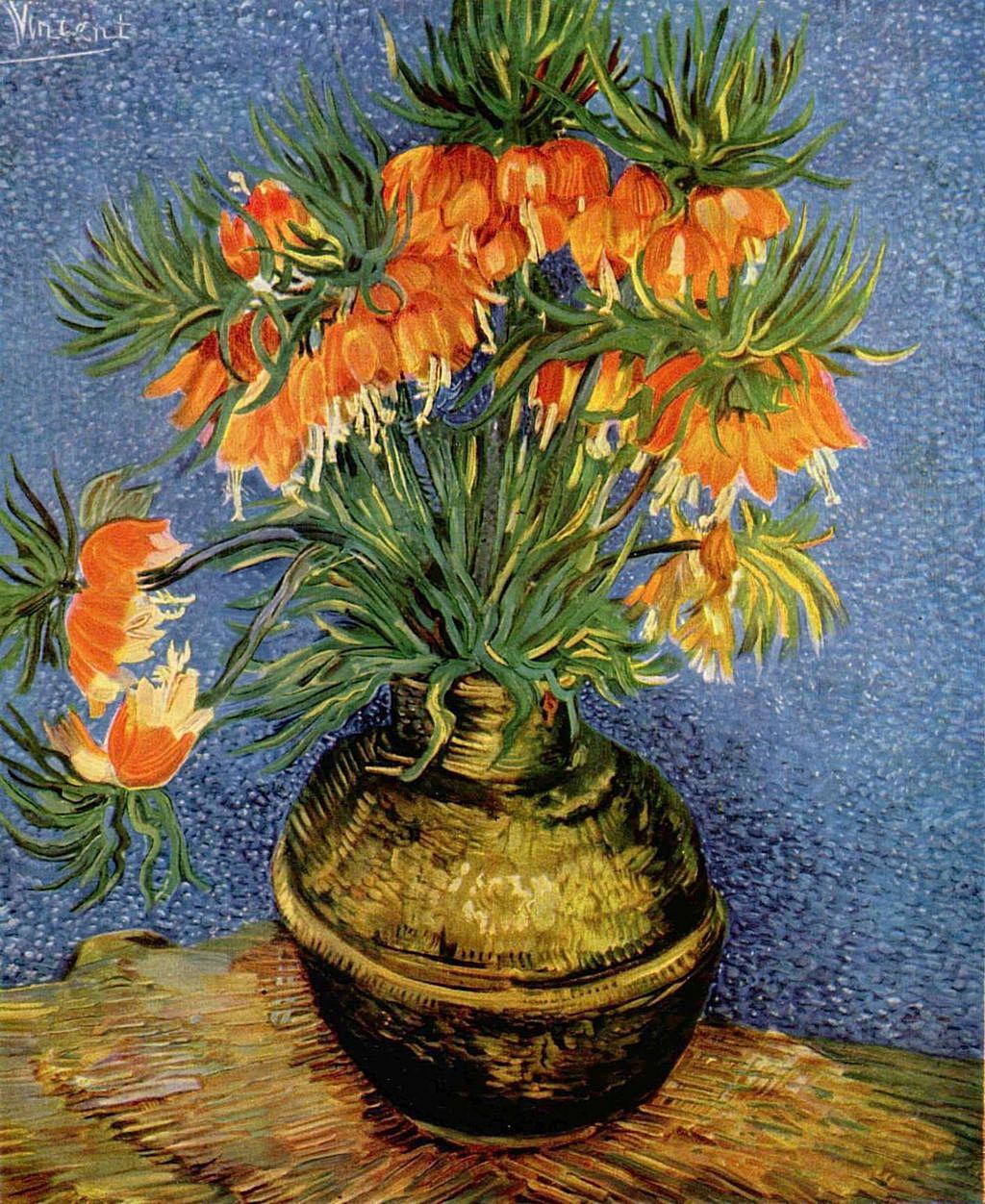 still life with frutillarias vincent van gogh 1853 1890