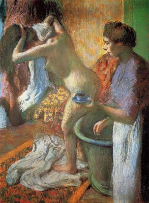 The Cup of Tea also known as Breakfast after Bathing 1883 PC