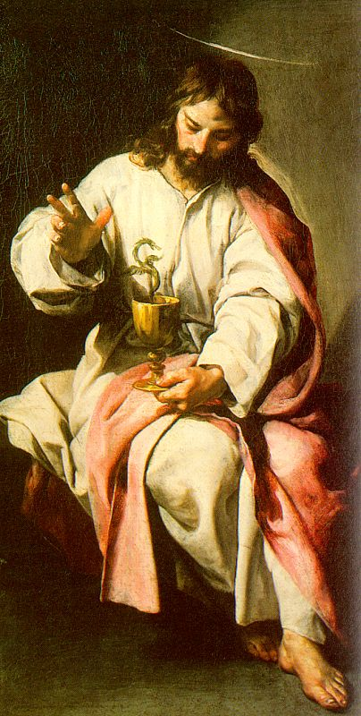 CANO Alonso St John The Evangelist With The Poisoned Cup