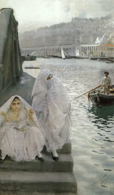 Zorn In the harbour of Algiers