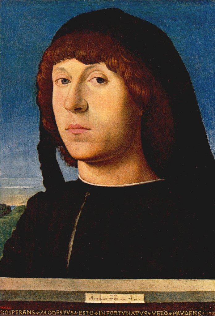 Antonello da Messina st Sebastian Antonello da Messina Portrait
