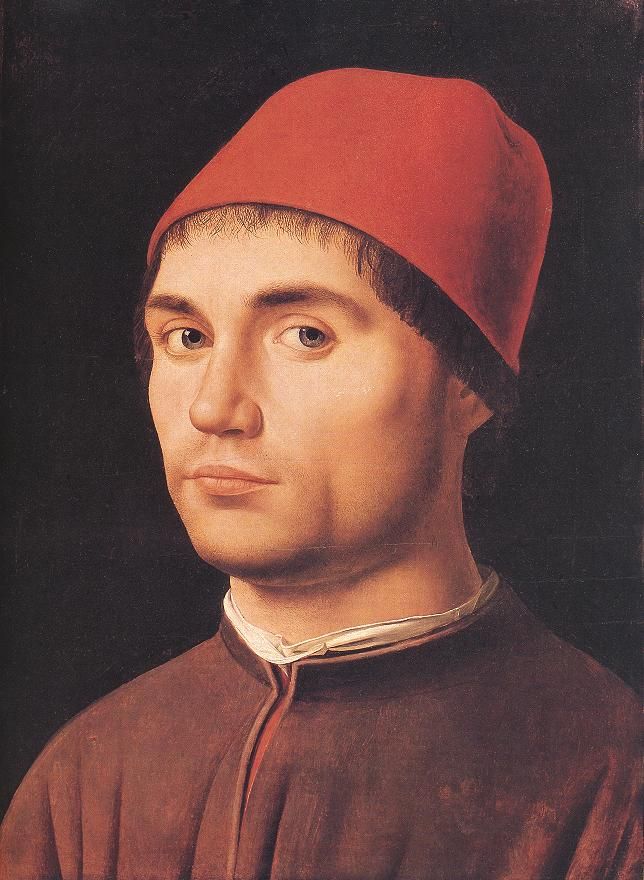 Antonello da Messina Portrait of a Man Antonello da Messina Portrait