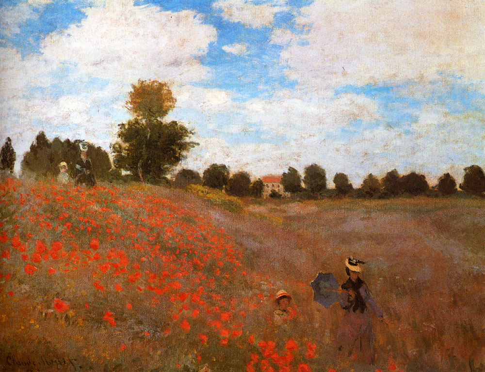 an analysis of the impressionist style of art in claude monets work