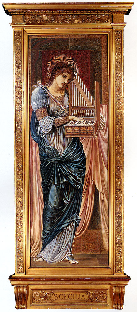 Burne Jones Sir Edward Coley St Cecilia