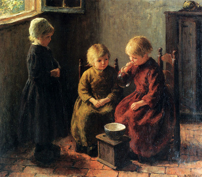 Pothast Bernard Blowing Bubbles