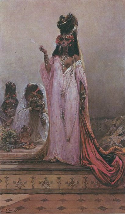 Clairin Georges Jules Victor Harem Woman