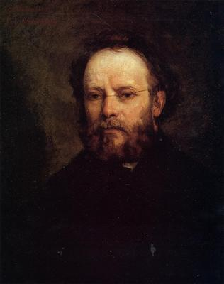 Courbet Gustave Portrait of Pierre Joseph Proudhon