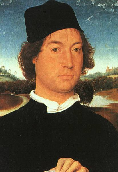 Memling Hans Portrait of a Young Man 1480s