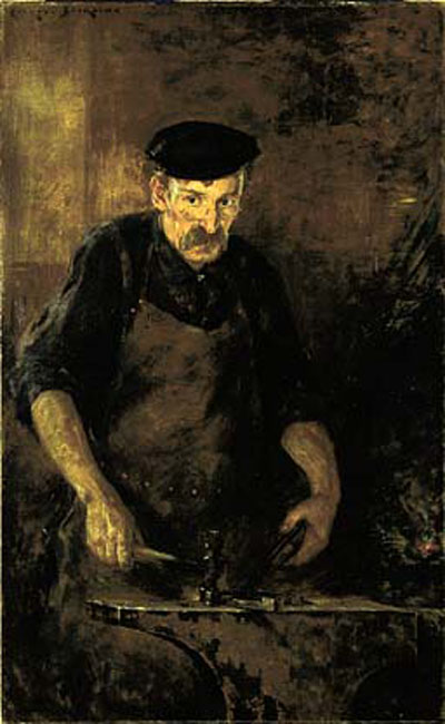 Beckwith James Carroll The Blacksmith