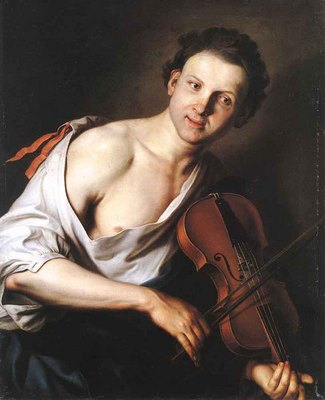 KUPECKY Jan Young Man With A Violin