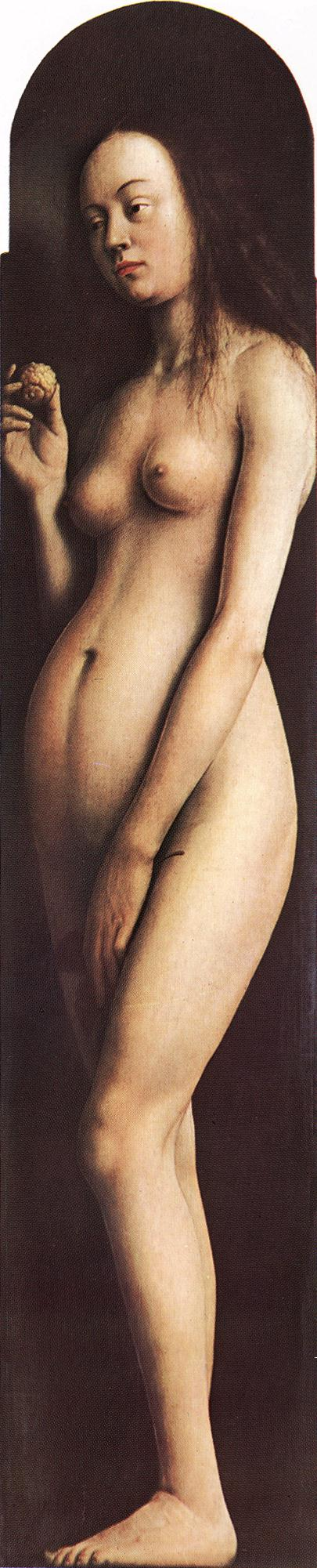 Eyck Jan van The Ghent Altarpiece Eve