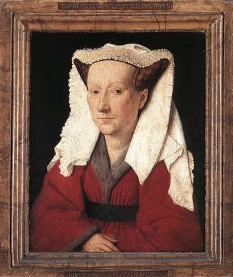 Eyck Jan van Portrait of Margareta van Eyck