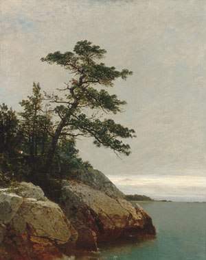 Kensett John F The Old Pine Darien Connecticut