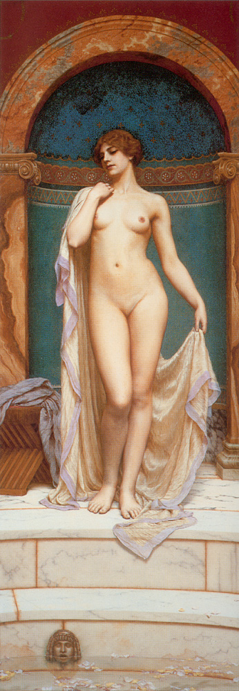 Godward Venus at the Bath