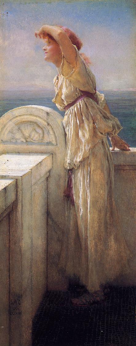 Alma Tadema Hopeful