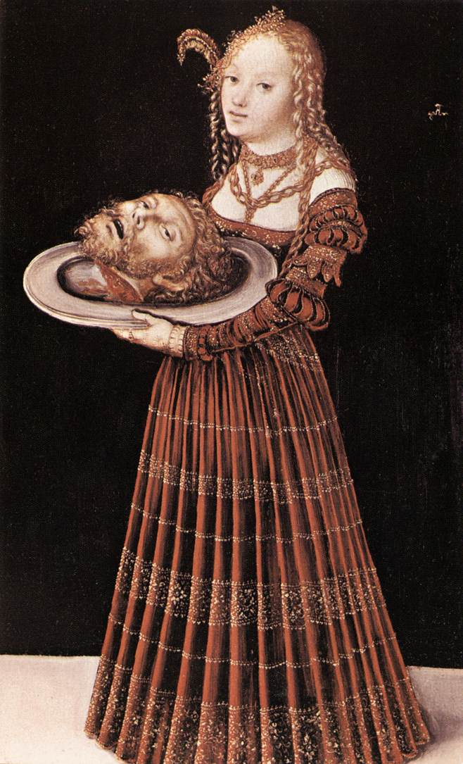 Cranach The Elder Lucas Cranach Lucas The Elder Salome