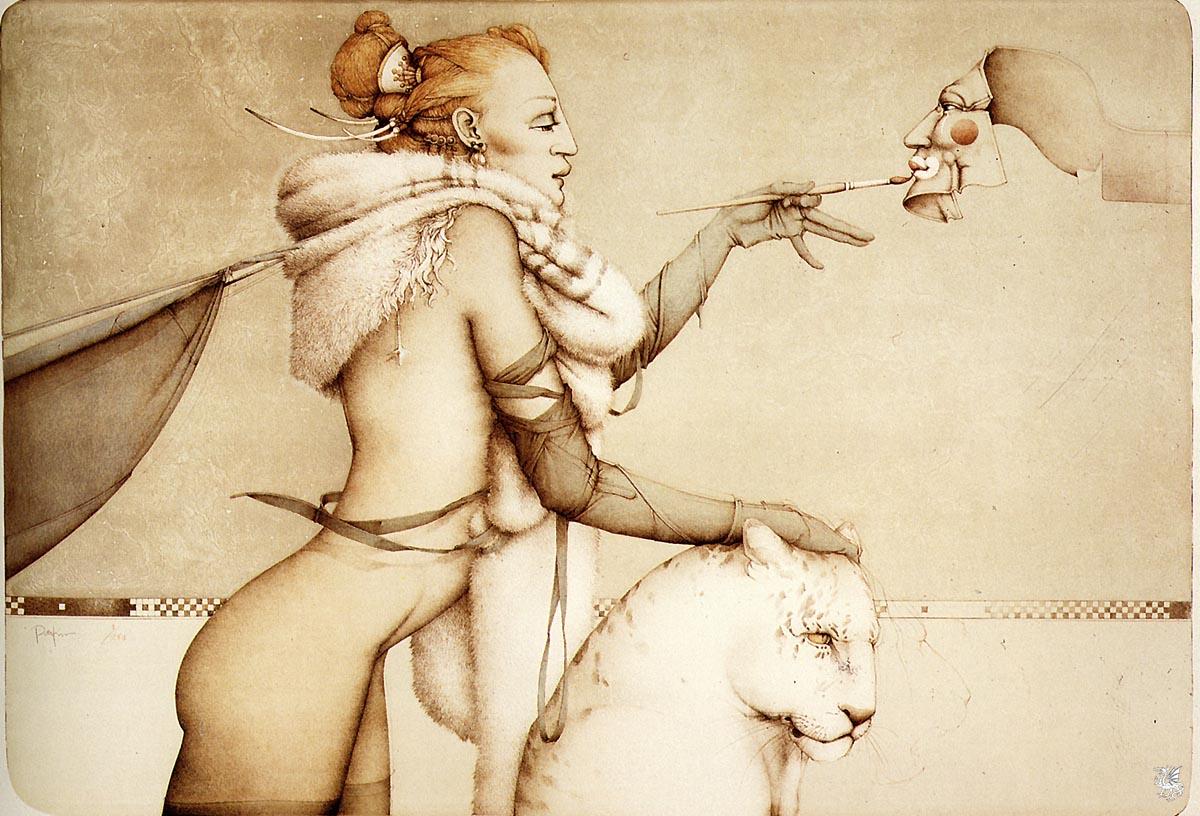 Michael Parkes, un gran artista muchisimas imagenes