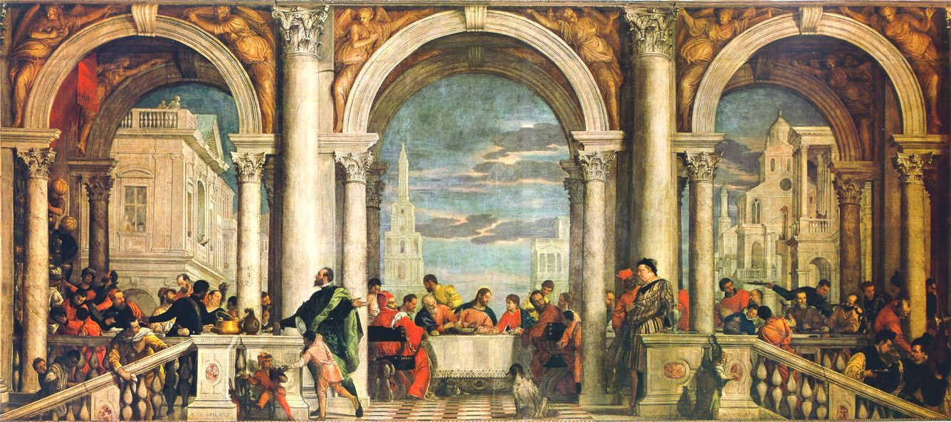 Veronese Feast in the House of Levi « Paolo Veronese (1528 ...