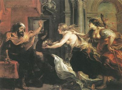 Tereus Confronted with the Head of his Son Itylus WGA
