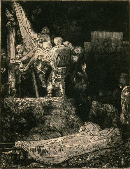 Descent from the Cross by Torchlight SIL