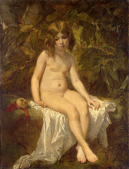 The Little Bather