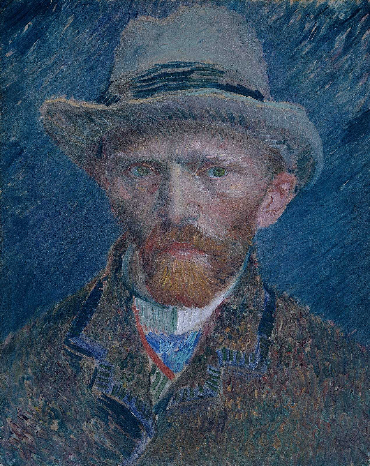 van gogh vincent self portrait « Vincent van Gogh (1853 ...