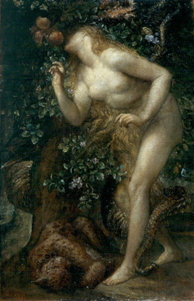 Watts George Frederick Eve Tempted