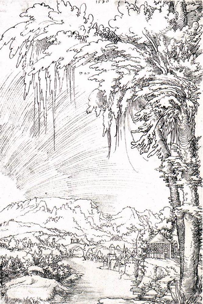 HUBER Wolf Landscape near