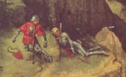 Detail of Breughel s Death of Saul