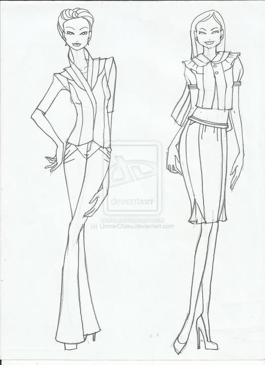 Advanced Fashion Design Portfolio Presentation Outline Only ...
